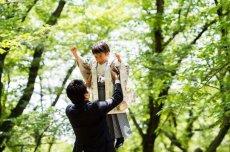 画像4: 4〜6歳男子 羽織袴 グレーかぶと【対応身長】105cm〜115cm (4)
