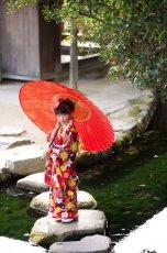 画像5: 【帯】コドモキモノ 秋リボン 【対応身長】100〜110cm (5)