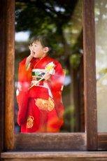 画像9: 【アンティーク着物】3歳女の子 古典柄 白雲 (9)