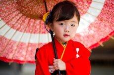 画像4: 【アンティーク着物】3歳女の子 古典柄 白雲 (4)