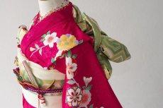 画像3: 【帯】 桜チェリー  【対応身長】115cm〜135cm (3)