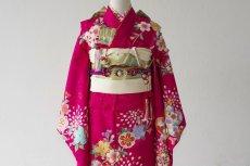 画像2: 【帯】 桜チェリー  【対応身長】115cm〜135cm (2)