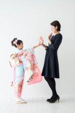 画像9: 【帯】古典柄 つつみ ブルー 【対応身長】115cm〜125cm (9)