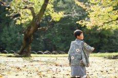 画像6: 羽織袴グレー【対応身長】90cm〜100cm (6)