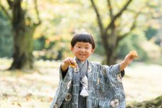 画像4: 羽織袴グレー【対応年齢】3歳0ヶ月〜4歳0ヶ月 【対応身長】85cm〜95cm (4)