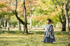 画像5: 羽織袴グレー【対応身長】90cm〜100cm (5)